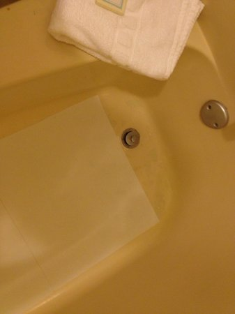 Best Western Hendersonville Inn: tub in room with cover