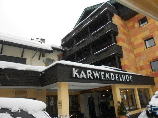 Hotel Karwendelhof: Ingresso hotel