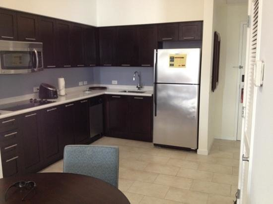 Kitchen Area Picture Of Melia Orlando Suite Hotel At Celebration Celebration Tripadvisor