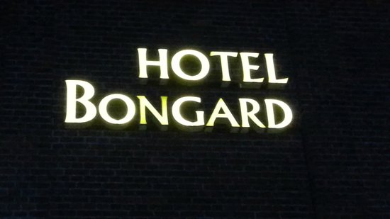 Hotel Bongard: Insegna