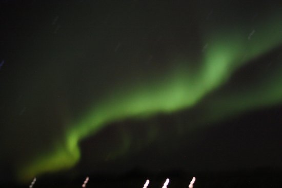 Silica Hotel: The elusive Northern Lights