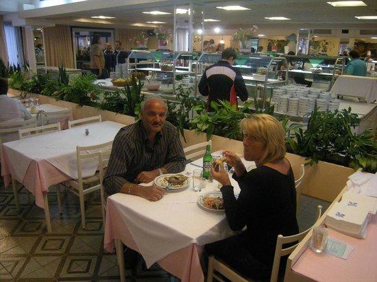 Hotel Delfin: Sala da pranzo