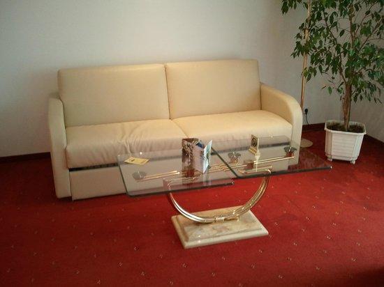 Hotel Plattenwirt: divanoletto in camera