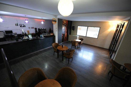 Hotel Montearoma: Cafetería