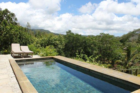 Suite con piscina privata foto di lakaz chamarel exclusive lodge chamarel tripadvisor - Suite con piscina privata ...