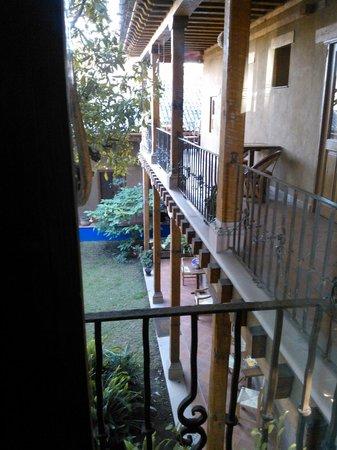 Posada Yolihuani: Vista desde mi habitación ...PRECIOSA!!