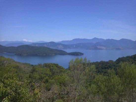 Pico do Papagaio: Vista para Paraty, da trilha
