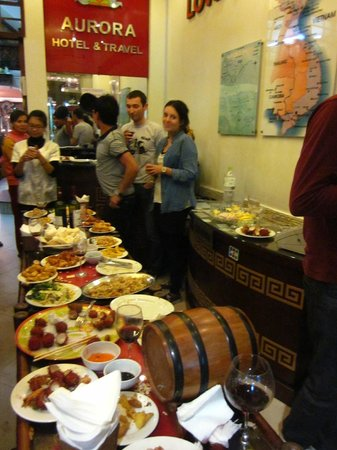 Hanoi Aurora Hotel: Great New Year's Party at Aurora Hotel