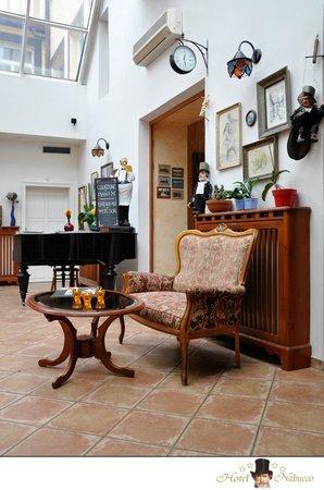 Hotel Nabucco: reception