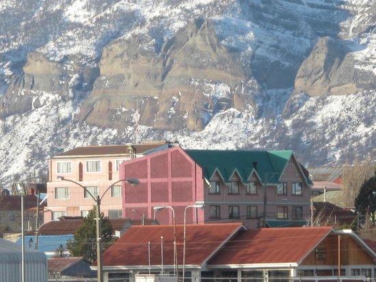Hotel Saltos del Paine : vista desde la navegación