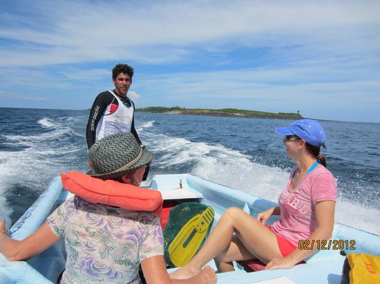 Pedasi Sports Club: Trip back from Isla Iguana