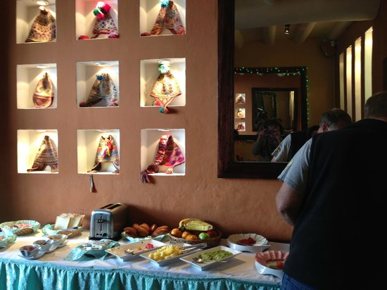 Casa San Blas Boutique: Breakfast Buffet