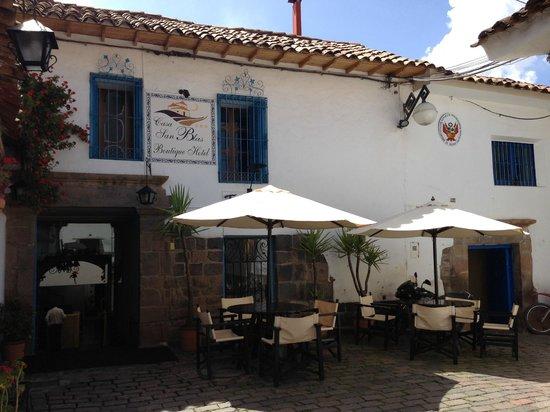Casa San Blas Boutique : Entrance to Casa