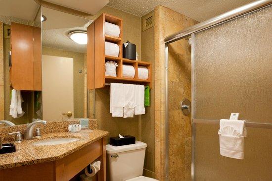 Hampton Inn Nashville / Brentwood I-65S: King Study Bathroom with Shower