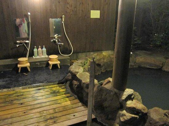 Oyado Yufunosho: Outdoor onsen