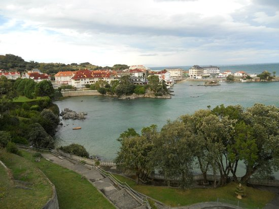 Isla, İspanya: Vistas des de mi habitacion Olimpo