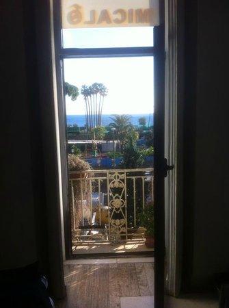 Hotel Micalo: la vista dalla camera n. 4