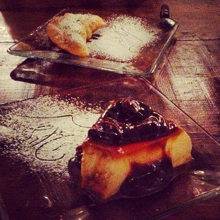 Del Sur Argentina Empanadas & Grill : Flan from our first visit - the best I've ever tasted