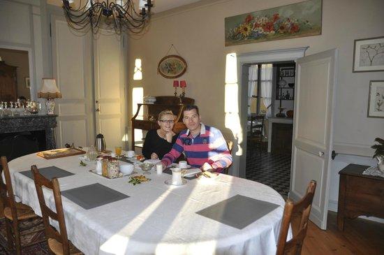 La Trimardière : le petit déjeuner