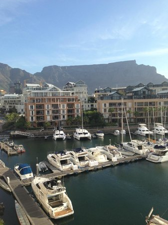 Cape Grace: Waking up to a mountain view