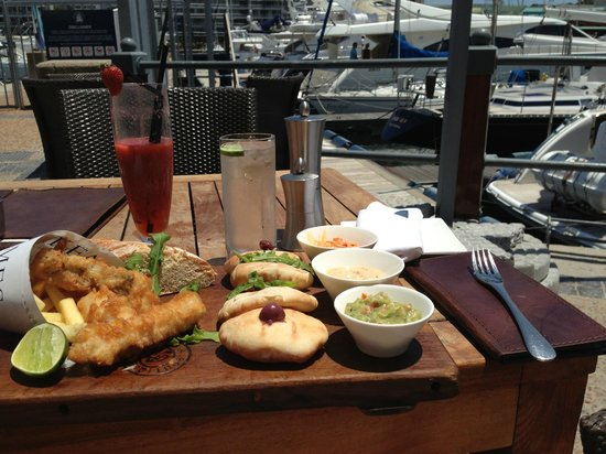 Cape Grace: Lunch by the marina @Bascule - Didn't expect tapas portions to be so large.... or so affordable