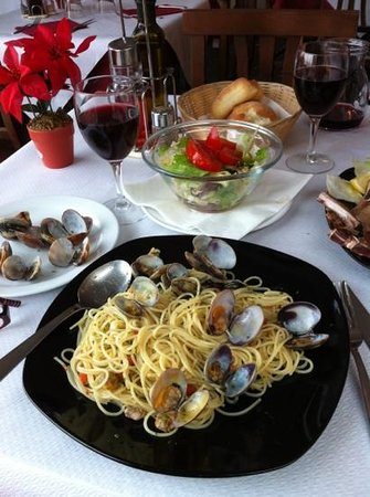 Ristorante Al Redentor : spaghetti with clams