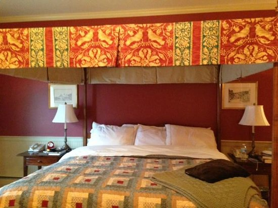 Green Mountain Inn: Comfy Bed