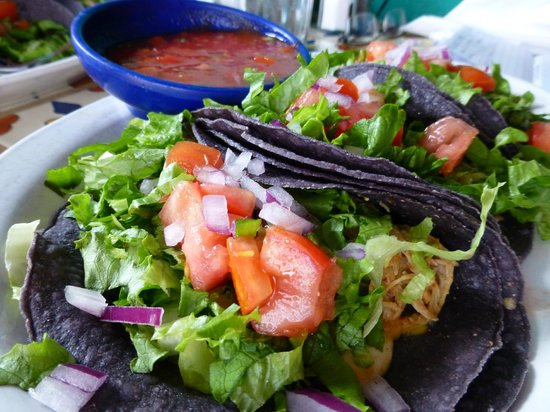 Orlando's New Mexican Cafe: Beaut Blue corn tortillas