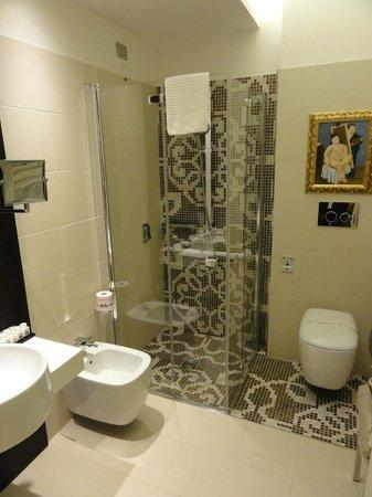Hotel Moresco: Salle d'eau