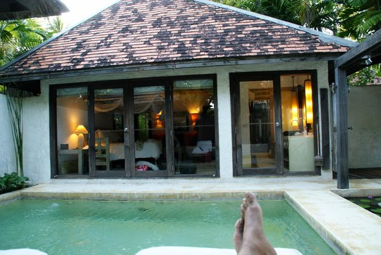 Evason Hua Hin: Fantastic Pool Suite with plunge pool!
