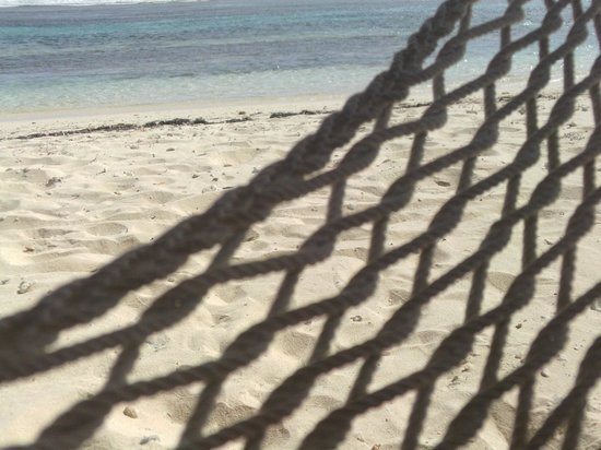 Carib Sands Beach Resort: Hammock on the beach