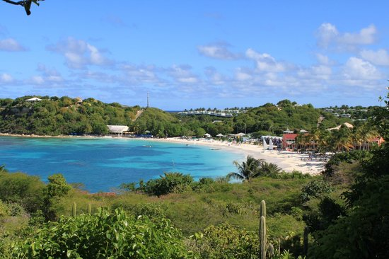 Pineapple Beach Club Antigua: View from the shack