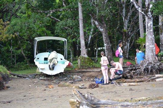 Punta Marenco Lodge: Boat Landing