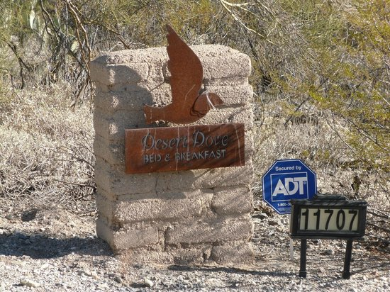 Desert Dove Bed and Breakfast: Entrance
