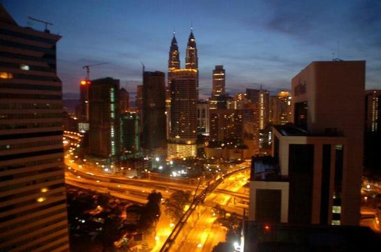 Sheraton Imperial Kuala Lumpur Hotel: View from the room.