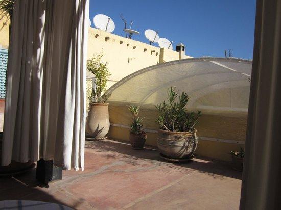 Riad Safa: Roof