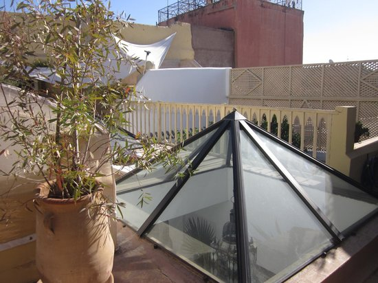 Riad Safa: Roof terrace