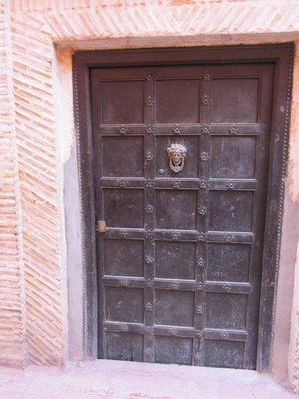 Riad Safa: Front door