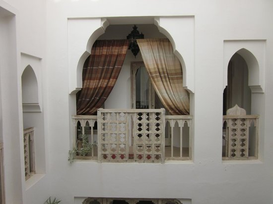 Riad Safa: Central courtyard