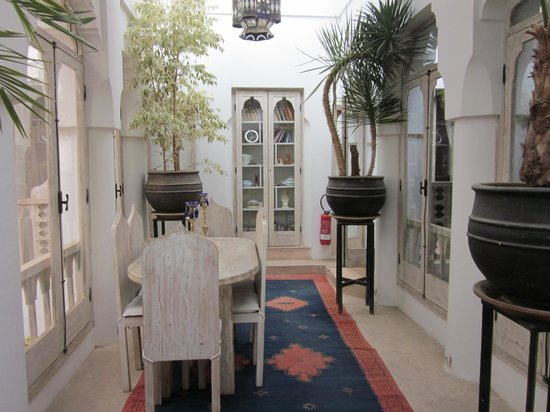 Riad Safa: common area, second floor