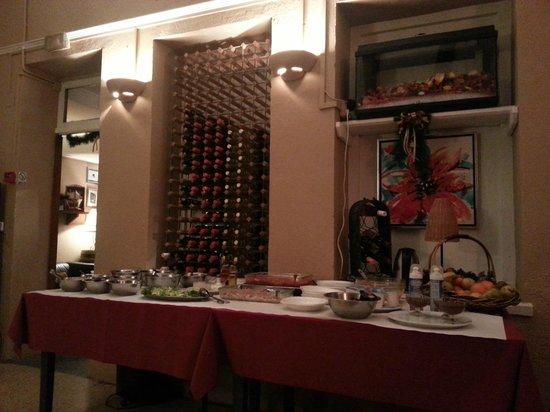 Hotel Roc de Sant Miquel: Buffet cena