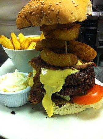 Swanky Franks: Cheeky Burger
