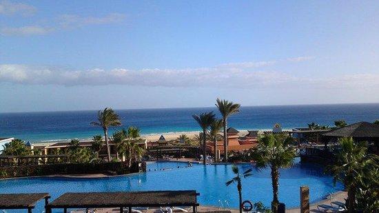 Occidental Jandía Playa: utsikt från rum i huvudbyggnaden