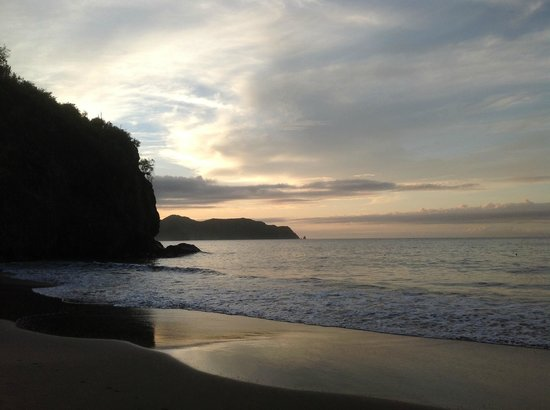 Posada Playa Medina: Atardecer Playa Medina