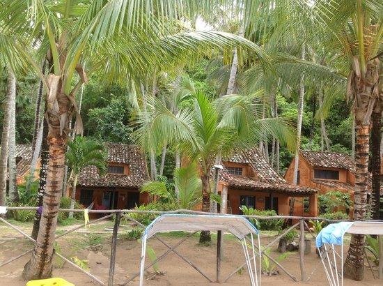 Posada Playa Medina: Frente al hotel (en la playa)