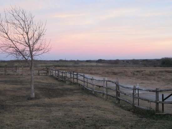 Spotted Pony Ranch: Magical sunset.