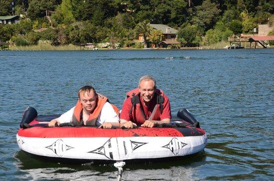 Cabañas Lago Vichuquén: Fun on the lake
