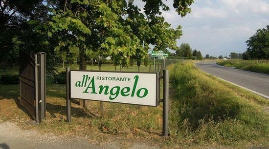 All'Angelo: Insegna