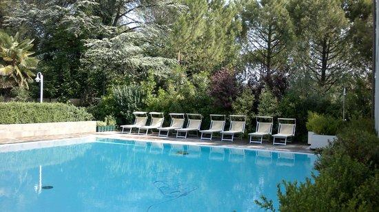 Camere Magnolia Faenza: piscina