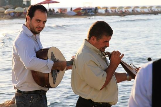Knossos Beach Bungalows & Suites: Wedding Musicians